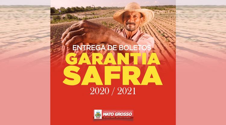 Secretaria de Agricultura de Mato Grosso realiza entrega dos boletos do Garantia Safra 2020/2021