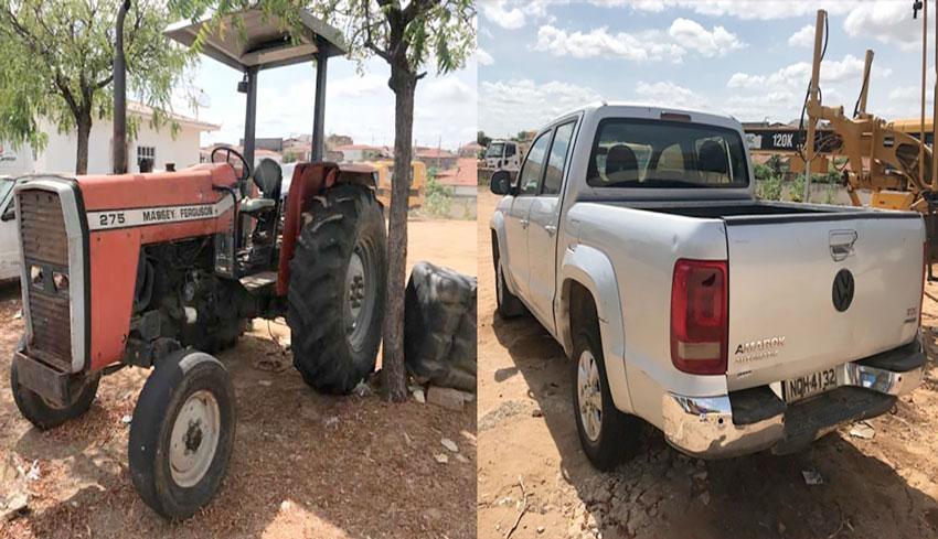 Prefeitura de Mato Grosso realiza leilão de veículo, máquina e sucatas