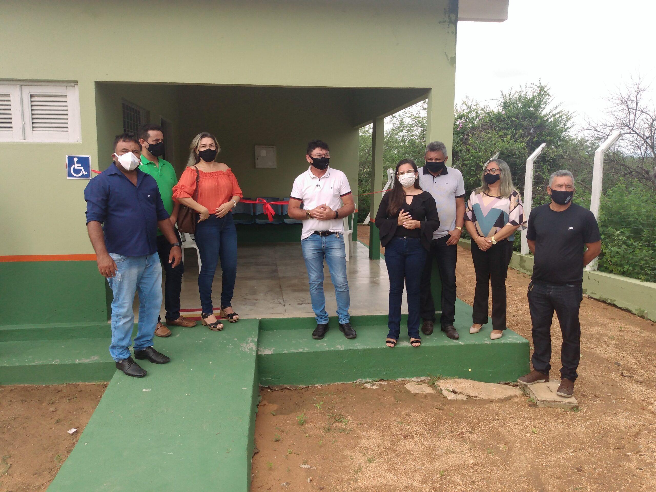Prefeitura de Jericó reinaugura âncora de saúde na comunidade Gangorra