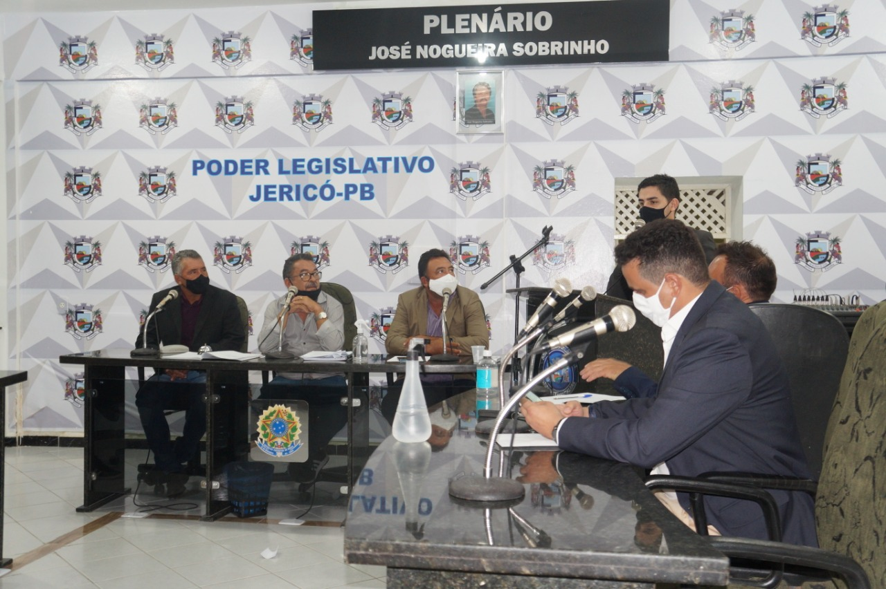 Vereadores de Jericó aprovam Plano de Cargos e Carreiras para agentes de saúde e de endemias
