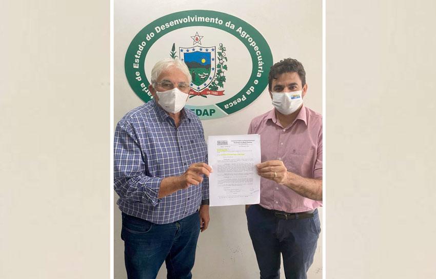 Prefeito de São Bento solicita alevinos para os municípios do Médio Piranhas; ouça