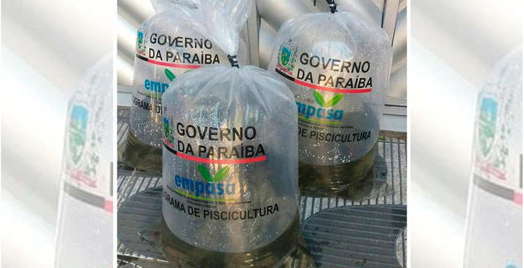Governo do Estado vai distribuir alevinos para agricultores em Catolé do Rocha