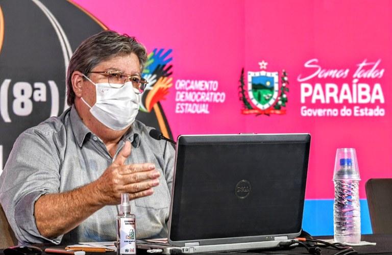 Governador destaca os investimentos nas regiões de Catolé e Pombal