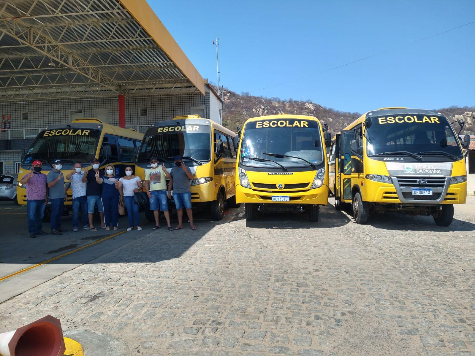 Detran-PB realiza vistoria dos transportes escolares de São José do Brejo do Cruz